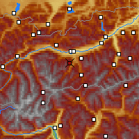 Nearby Forecast Locations - Fulpmes - Carte
