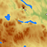 Nearby Forecast Locations - Jämtland - Carte