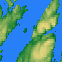 Nearby Forecast Locations - Honningsvåg - Carte