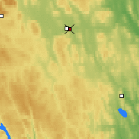 Nearby Forecast Locations - Sveg - Carte