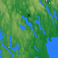Nearby Forecast Locations - Arvika - Carte