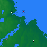 Nearby Forecast Locations - Eggegrund - Carte