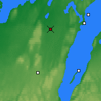 Nearby Forecast Locations - Skövde - Carte