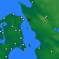 Nearby Forecast Locations - Helsingborg - Carte