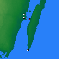 Nearby Forecast Locations - Ont d'Öland - Carte