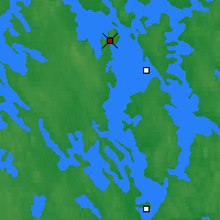 Nearby Forecast Locations - Kuopio - Carte