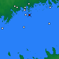 Nearby Forecast Locations - Isosaari - Carte