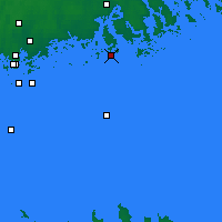 Nearby Forecast Locations - Porvoo - Carte