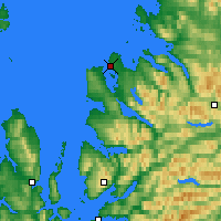 Nearby Forecast Locations - Ullapool - Carte