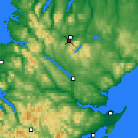 Nearby Forecast Locations - Altnaharra - Carte