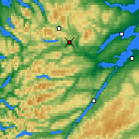 Nearby Forecast Locations - Highlands - Carte