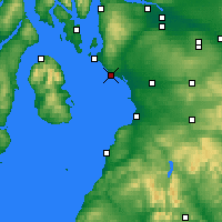 Nearby Forecast Locations - Ardrossan - Carte