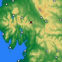 Nearby Forecast Locations - Penrith - Carte