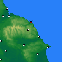 Nearby Forecast Locations - Whitby - Carte