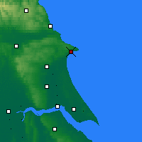 Nearby Forecast Locations - Bridlington - Carte