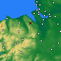 Nearby Forecast Locations - Mold - Carte