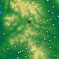 Nearby Forecast Locations - Skipton - Carte