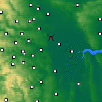 Nearby Forecast Locations - Église Fenton - Carte
