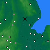 Nearby Forecast Locations - Lincolnshire - Carte