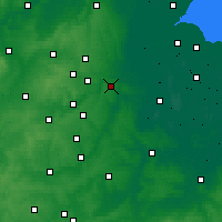 Nearby Forecast Locations - Peterborough - Carte