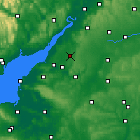 Nearby Forecast Locations - Yate - Carte