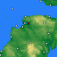 Nearby Forecast Locations - Barnstaple - Carte