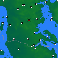 Nearby Forecast Locations - Vojens - Carte