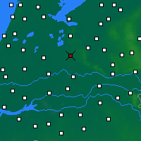 Nearby Forecast Locations - Utrecht - Carte