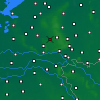 Nearby Forecast Locations - Otterlo - Carte