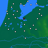 Nearby Forecast Locations - Almere - Carte