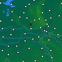 Nearby Forecast Locations - Ede - Carte