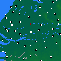 Nearby Forecast Locations - Cabauw - Carte