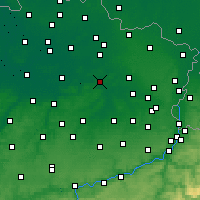 Nearby Forecast Locations - Schaffen - Carte