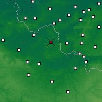 Nearby Forecast Locations - Lille - Carte