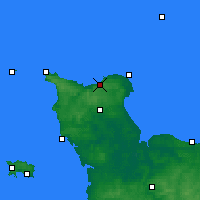 Nearby Forecast Locations - Vigite du Haumet - Carte