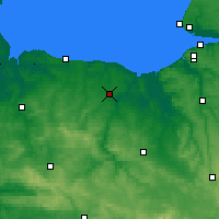 Nearby Forecast Locations - Caen - Carte