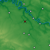 Nearby Forecast Locations - Évreux - Carte