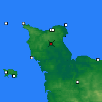Nearby Forecast Locations - Valognes - Carte