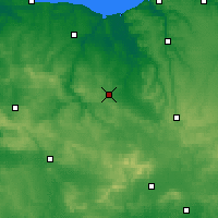 Nearby Forecast Locations - Falaise - Carte