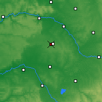 Nearby Forecast Locations - Châlons-en-Champagne - Carte