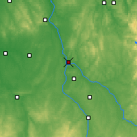 Nearby Forecast Locations - Nevers - Carte