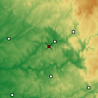 Nearby Forecast Locations - Grèzes - Carte