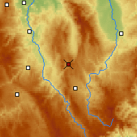 Nearby Forecast Locations - Sembadel - Carte