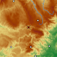 Nearby Forecast Locations - Mende - Carte