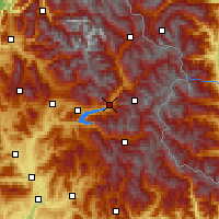 Nearby Forecast Locations - Embrun - Carte