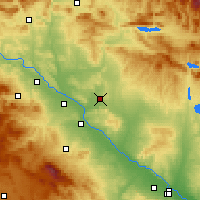 Nearby Forecast Locations - Bardenas Reales - Carte