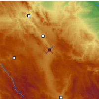 Nearby Forecast Locations - Calamocha - Carte