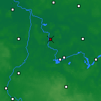 Nearby Forecast Locations - Rathenow - Carte