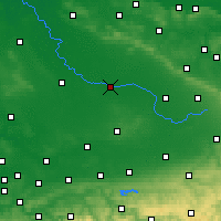 Nearby Forecast Locations - Warendorf - Carte