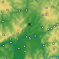 Nearby Forecast Locations - Friedberg - Carte